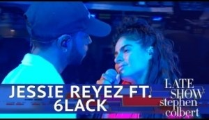 """Jessie Reyez & 6lack Perform """"imported"""" Live On The Late Show"""